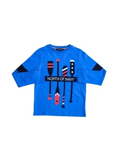 North Of Navy Sweatshirt Turkuaz